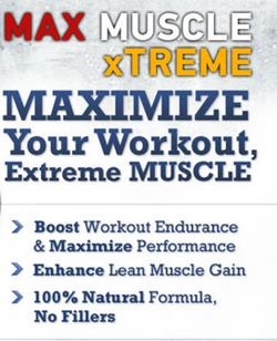 max muscle xtreme ingredients