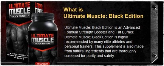 ultimate muscle ingredients