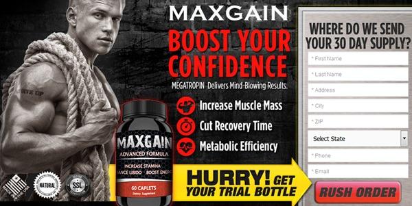 maxgain trial